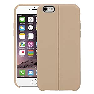 iPhone 6 Plus Back Cover, Back Cover For Apple iPhone 6 Plus (Gold) - By QUICKSAND