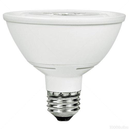 Led - 14.5 Watt - Par30 - Short Neck - 75W Equal - 1500 Candlepower - 40 Deg. Flood - 3000K Halogen White - Green Creative 40663
