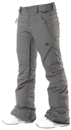 DC Women's Ace Skinny Snowboarding Pant, Shadow-MD