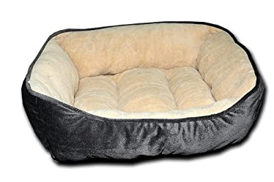 Happycare Tex Premium Embossed Rectangle Micro Mink Pet Bed (Two sizes for your choice)