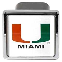 Pilot Alumni Group CR-951 Hitch Cover (Collegiate Miami Hurricanes)