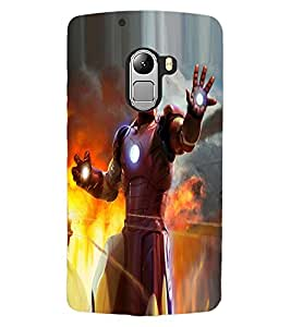 ColourCraft Superhero Design Back Case Cover for LENOVO A7010