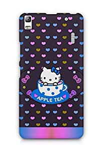 Cover Affair Hello Kitty Printed Back Cover Case for Lenovo K3 Note