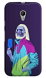 Dreambolic game-of-thrones-8090s-era-characters-white-walker Multicolor Back Cover for Moto G3