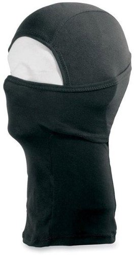 Schampa Silk Balaclava Deluxe , Distinct Name: Black, Size: OSFA, Gender: Mens/Unisex, Primary Color: Black BLCLVO28
