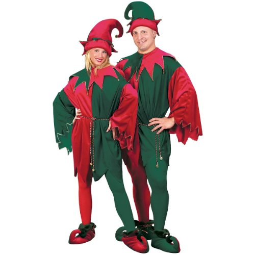 Deluxe Elf Set Costume - Standard - Chest Size 33-45