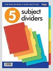 a4-extra-wide-colour-coded-10-part-strong-filing-subject-dividers-tabbed-index