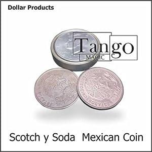 Scotch and Soda Mexican Coin - Tango Magic