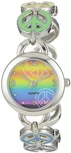 Frenzy Kids' FR248 Peace Novelty Analog Bracelet Watch
