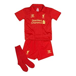 Warrior Kids Liverpool Football Club Home Inf Set - High Risk Red 18 Month - 1 Year from Warrior