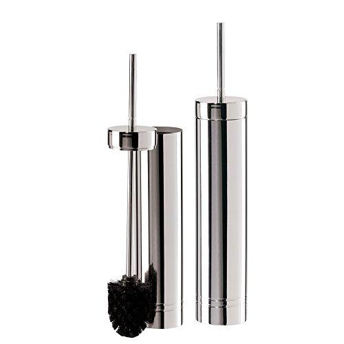 oggi stainless steel slim toilet brush holder new ebay. Black Bedroom Furniture Sets. Home Design Ideas