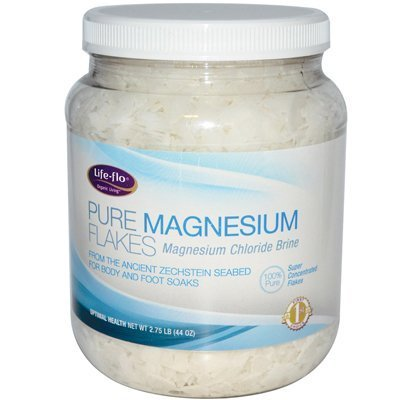 Life-Flo Natural Living: Pure Magnesium Flakes, 44 Oz