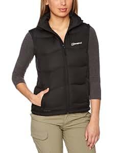 Berghaus Women's Akka Down Padded Windproof Gilet Vest - Black, Size 8