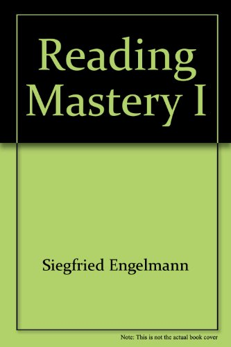 Reading Mastery I (Fast Cycle Distar Reading Storybook 1 SRA) (Distar Reading Program compare prices)