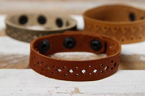 Handmade Designer Cute Bracelet Stylish Openwork Bracelet Leather Wrist Bracelet