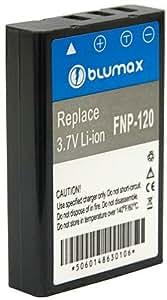 Blumax Batterie Li-Ion de remplacement pour Fuji NP-120 3,7 V / 1900 mAh (Import Allemagne)