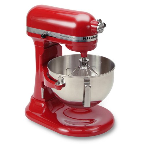 Sale Kitchenaid Kv25g0xer Red Artisan 5 Quart 450 Watt