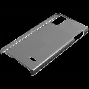 PDA工房 クリスタルカバー Optimus G L-01E / LGL21(クリア)+液晶保護シートセット