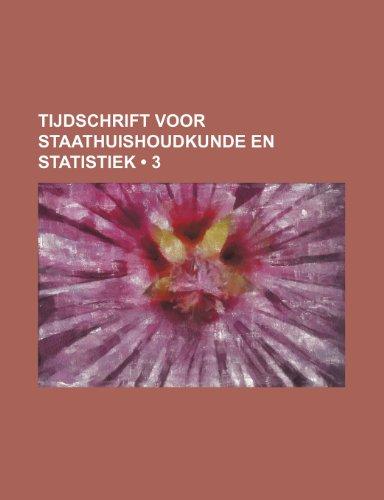 Tijdschrift Voor Staathuishoudkunde En Statistiek (3)