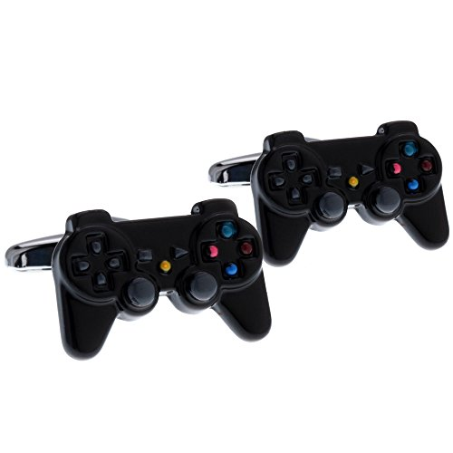 Game Controllers Metal Cufflinks