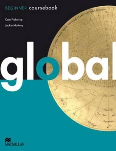 Global. Coursebook. Beginner Level