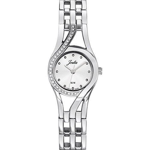 Joalia-633320-Orologio da donna con cinturino in metallo con quadrante, colore: argento