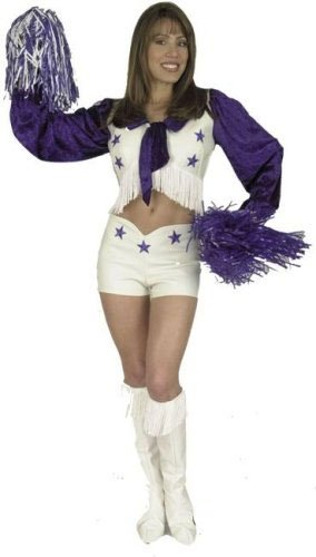 Adult Dallas Cheerleader Costume (Size:Small 5-7)