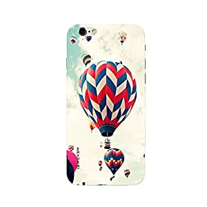 iSweven printed iph6_3291 Big and Small Balloon Design Multicolored Matte finish Back case cover for Apple iPhone 6