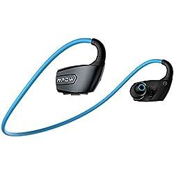 Mpow Antelope Sports Headphones Wireless Bluetooth 4.1 con Hands-free Chiamata,Lunga Durata, CVC6.0 Noise Diminuzione Per iPhone 6s 6s Plus 6 6 Plus 5 5c 5s 4s Samsung Galaxy S6 S5 S4 S3 Note 3 e Altri Smatphones
