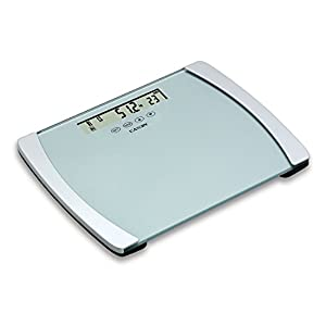 Camry 440lb BMI Digital Body Scale with Ultra Wide Platform and Large 6.3 Inches Display (Black)