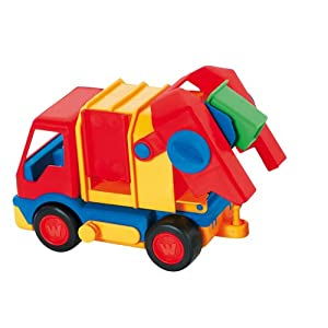 Award Winner! Wader Quality Toys: Garbage Truck for Beach, Sand or Water Play!
