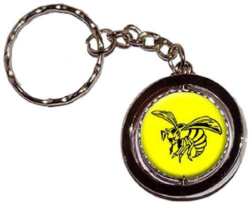 bee-wasp-hornet-round-spinning-keychain