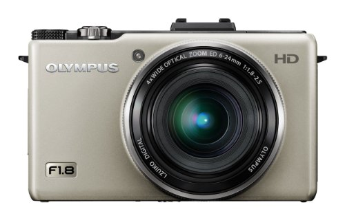 Olympus XZ-1 Digital Camera - Silver (10MP, 4x i.Zuiko Wide Optical Zoom) 3.0 inch LCD