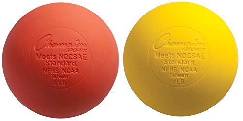 Lacrosse Balls (2-Pack) - Orange-Yellow