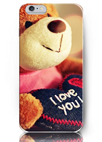 Ouo New Unique Vintage Hard Cover Gift For Girls 4.7 Inch Iphone 6 Case Case Lovely Bear Toy