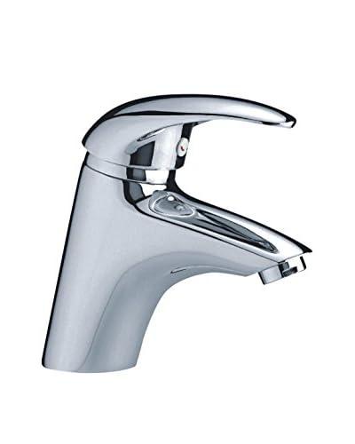 AQUACONCEPT Einhand-Waschtischarmatur Eva stahl