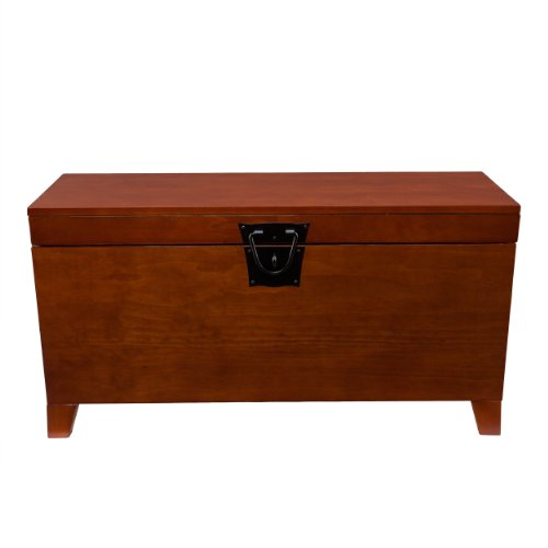 Hope chest storage trunk wood bedroom blanket coffee table large box for quilts ebay Coffee table chest with storage