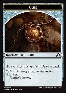 Magic: the Gathering - Clue Token (John Avon) (011/018) - Shadows Over Innistrad