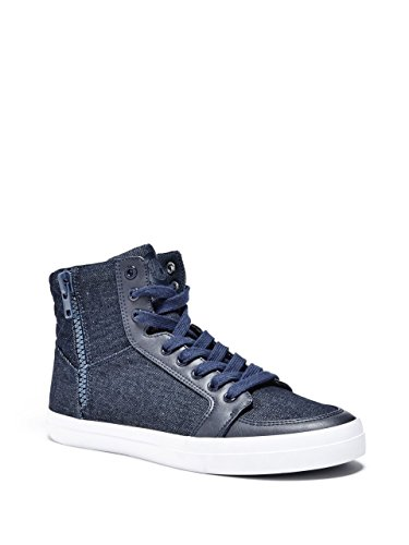 G by GUESS Mens Martin Denim High-Top Sneakers