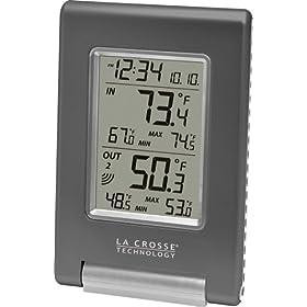 La Crosse Technology WS-9080U-IT Wireless Temperature Station: Patio, Lawn & Garden