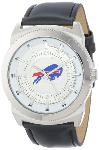 Game Time Men's NFL-VIN-BUF Vintage NFL Series Buffalo Bills 3-Hand Analog Watch at Amazon.com