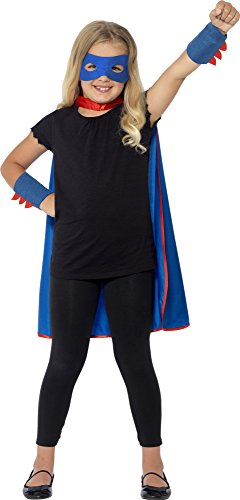 Blue Superhero Kit Child Accessory