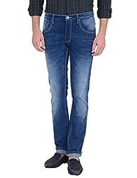 IDENTITI Men's Blue Casual Jeans