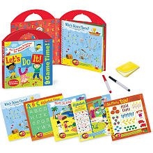 Peaceable Kingdom / Game Time! 'Let's Do It!' Write & Wipe Activities