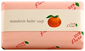 100% Pure Mandarin Butter Soap from 100% Pure