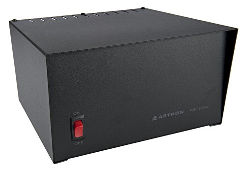 Astron Original RS-20A Power Supply, Linear, Regulated, 20A Peak, 16A Continuous, Output: 13.8Vdc, Input: 105-125V