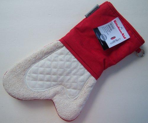 Cheap kitchenaid cool zone empire red oven mitt fits either hand cheap kitchenaid kfpw760 sale - Kitchenaid oven gloves ...