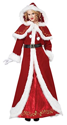 Mrs. Claus Deluxe Adult