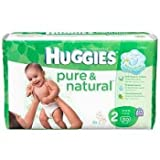 Huggies Pure & Natural Diapers, Size 2 (12-18 lb), Disney Baby, Jumbo, 30 ct. Baby, NewBorn, Children, Kid, Infant