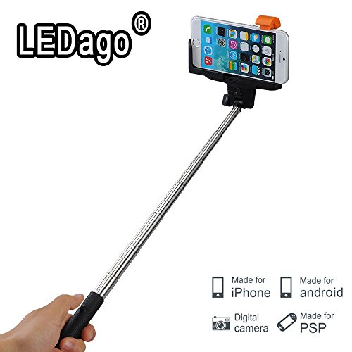 selfie stick dagou quicksnap pro 3 in 1 self portrait monopod extendable wireless bluetooth. Black Bedroom Furniture Sets. Home Design Ideas